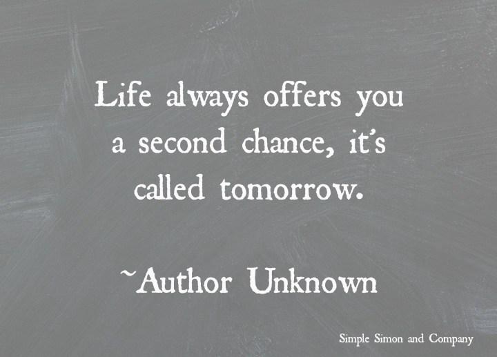 Life always