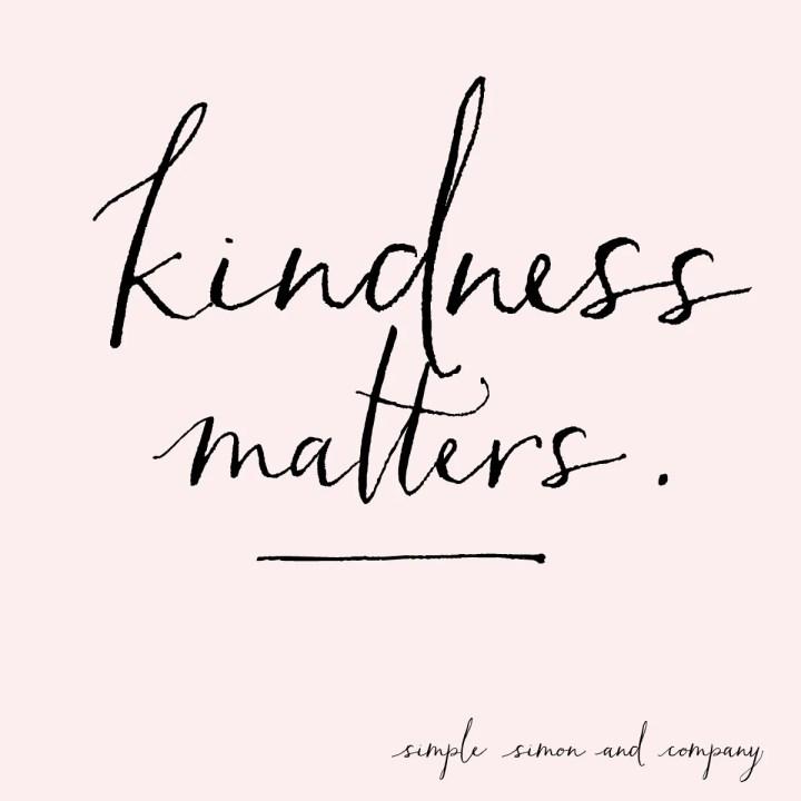 kindness matterns
