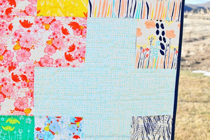plus quilt close up real