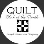Quilt Block of the Month Series