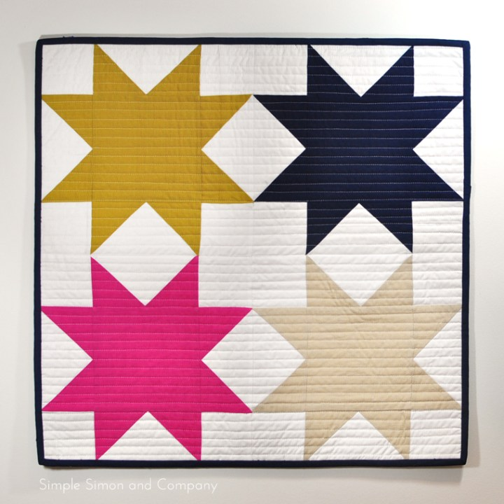 star mini quilt simple simon and co