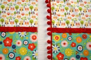 Fabric Playhouse Adding Trims