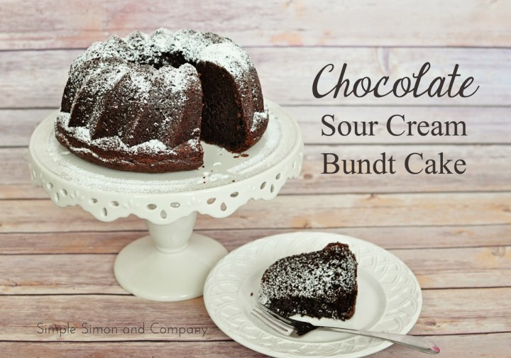 chocolate sour cream bundt cake recipe