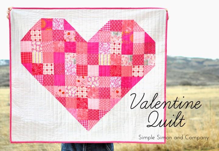 valentine quilt