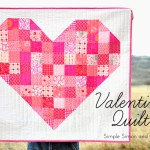 "Valentine ""I Love you because…"" Quilt"