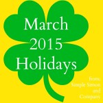 March 2015 Holidays