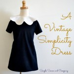 A Vintage Simplicity Pattern