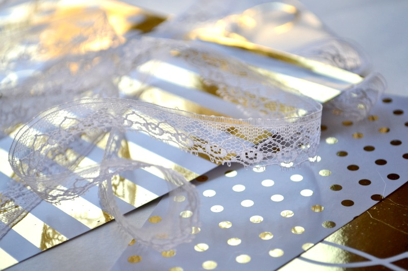 Minc gold and lace
