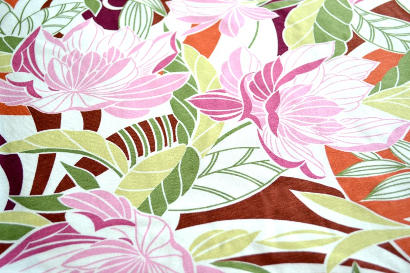 Nancy Zieman Pattern Fabric