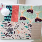 Quilt-as-you-go Zipper Pouch