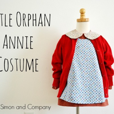 Annie Costume (Orphan Style)…and a Secret…