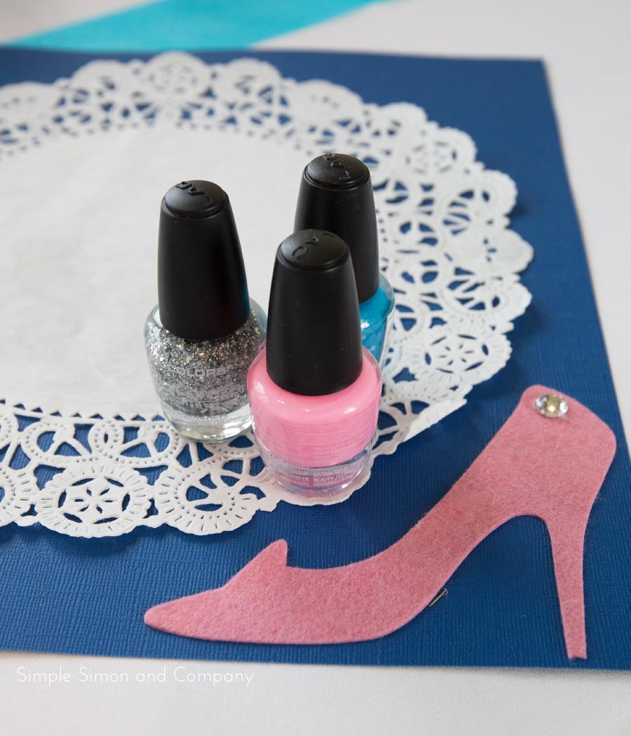 fingernail polish stations