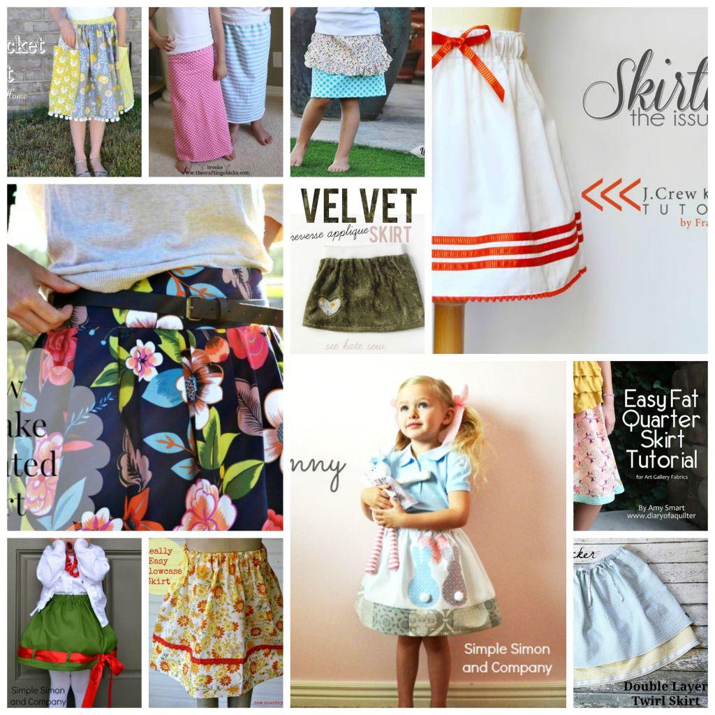 Skirt collage 2