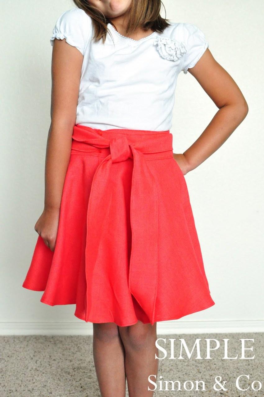 wrap skirt 1