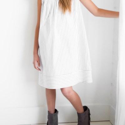 Back to School Striped Dress