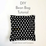 DIY Bean Bag Tutorial