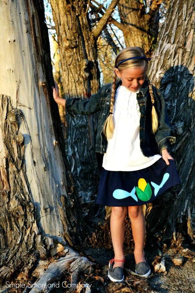 Thanksgiving Skirt full skirt