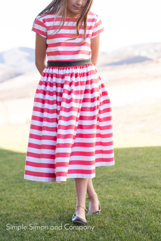 coral dress 3