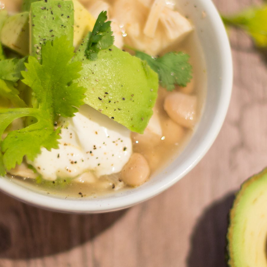 salsa verde white chicken chili