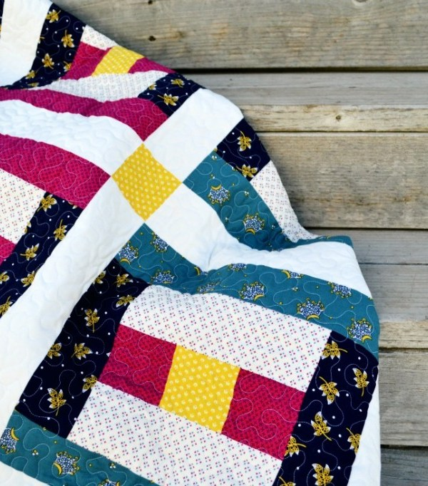 Courthouse Steps (Quilt Block of the Month)