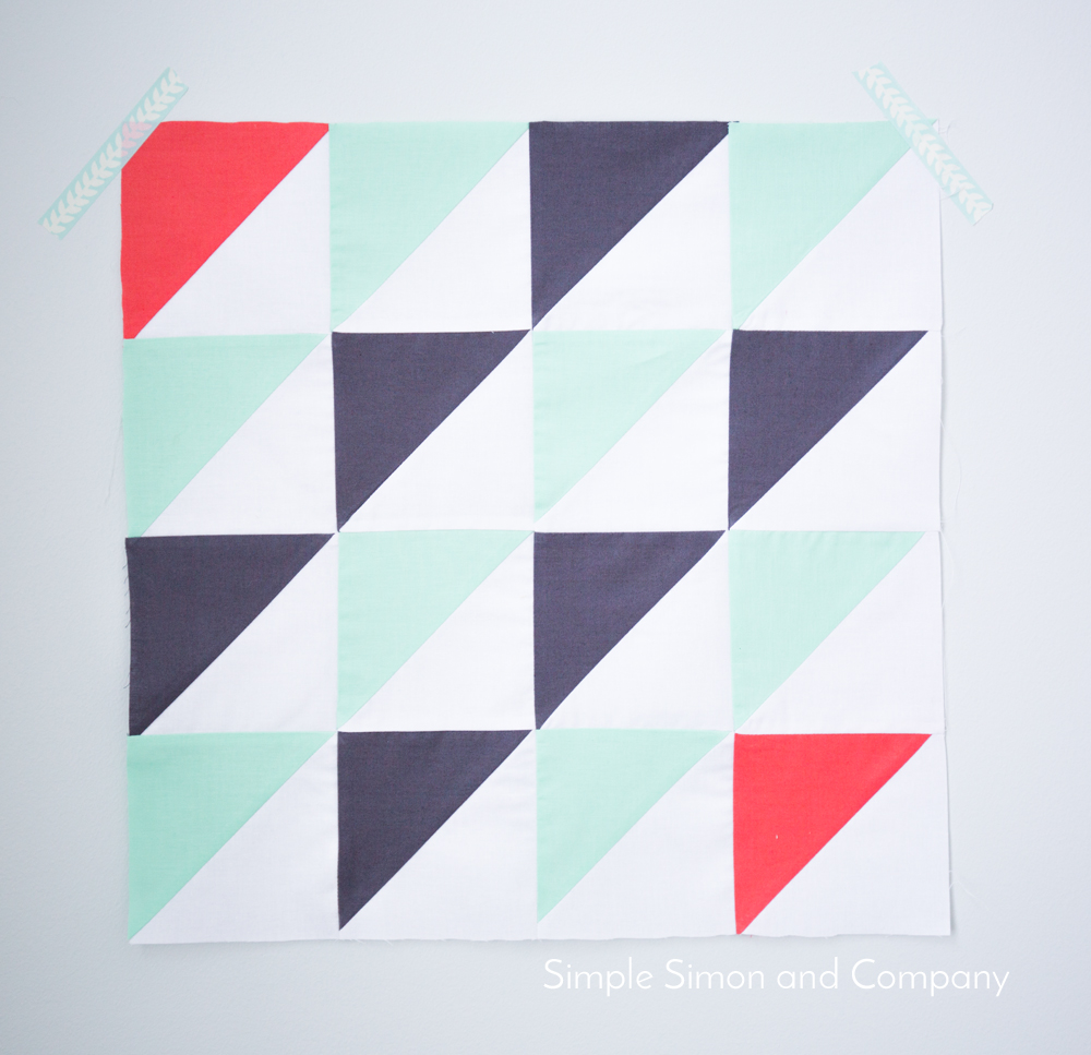 HST January quilt block