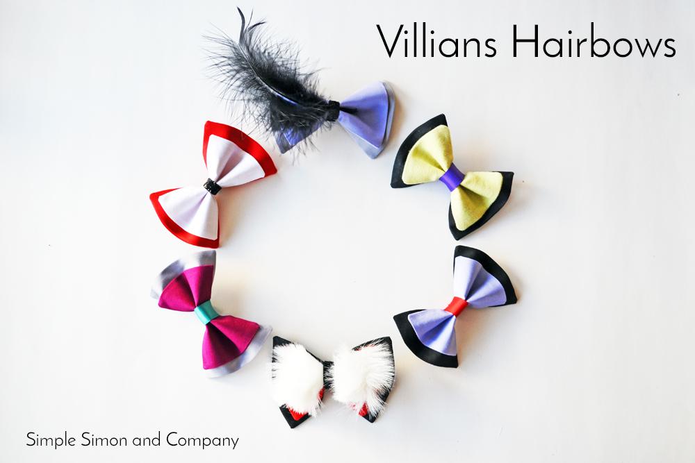 Villians Hairbows