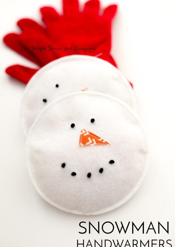 Snowman Handwarmers