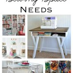 5 Things Every Sewing Space Needs