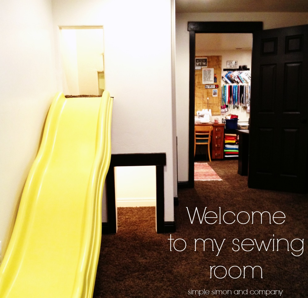 sewing room entrance