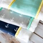 Simple Burp Cloth Tutorial