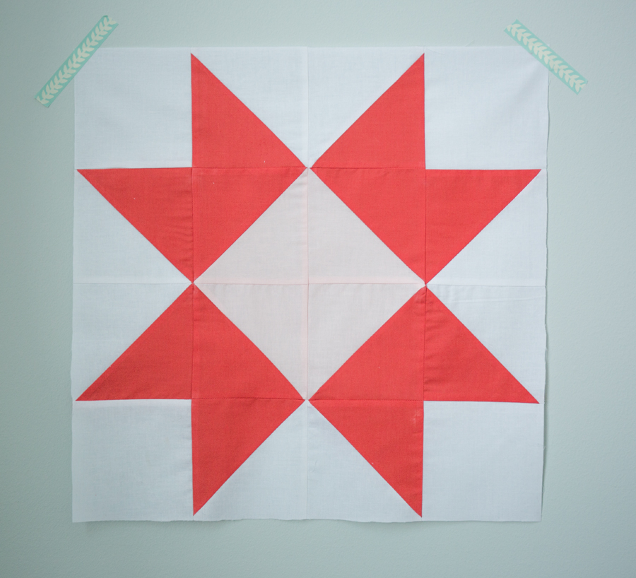 The Ribbon Star Quilt Block Tutorial