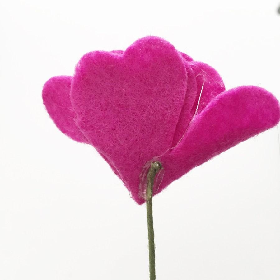 Diy Felt Flower Bouquet Tutorial Simple Simon And Company