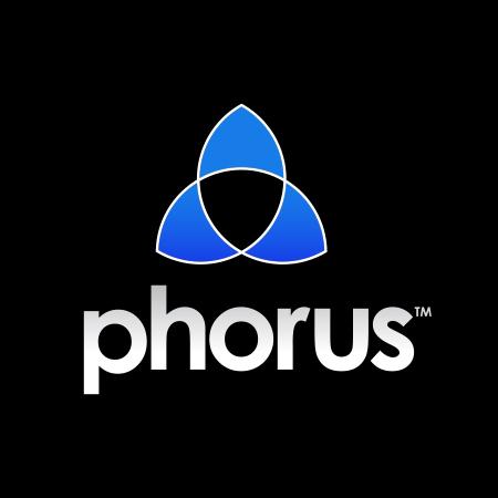 Phorus-logo-black-background