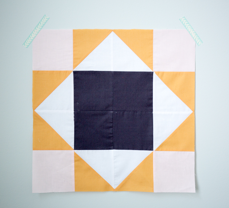 King's Court Quilt Block tutorial