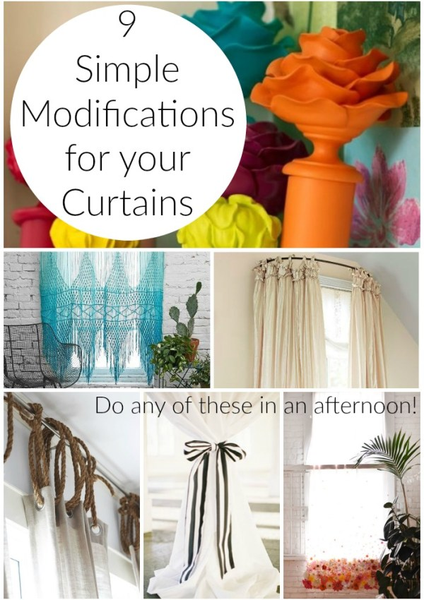 Simple Curtain Modifications