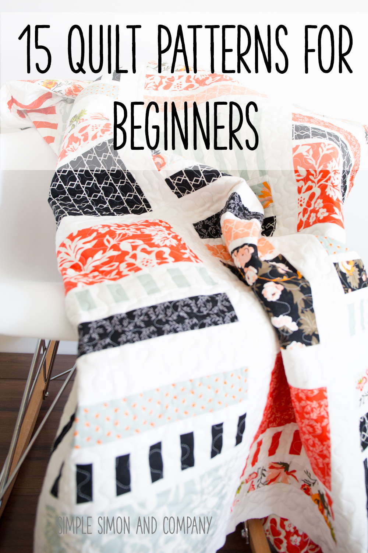 Easy Beginner Makeup Tutorial: 15 Quilt Patterns For Beginners
