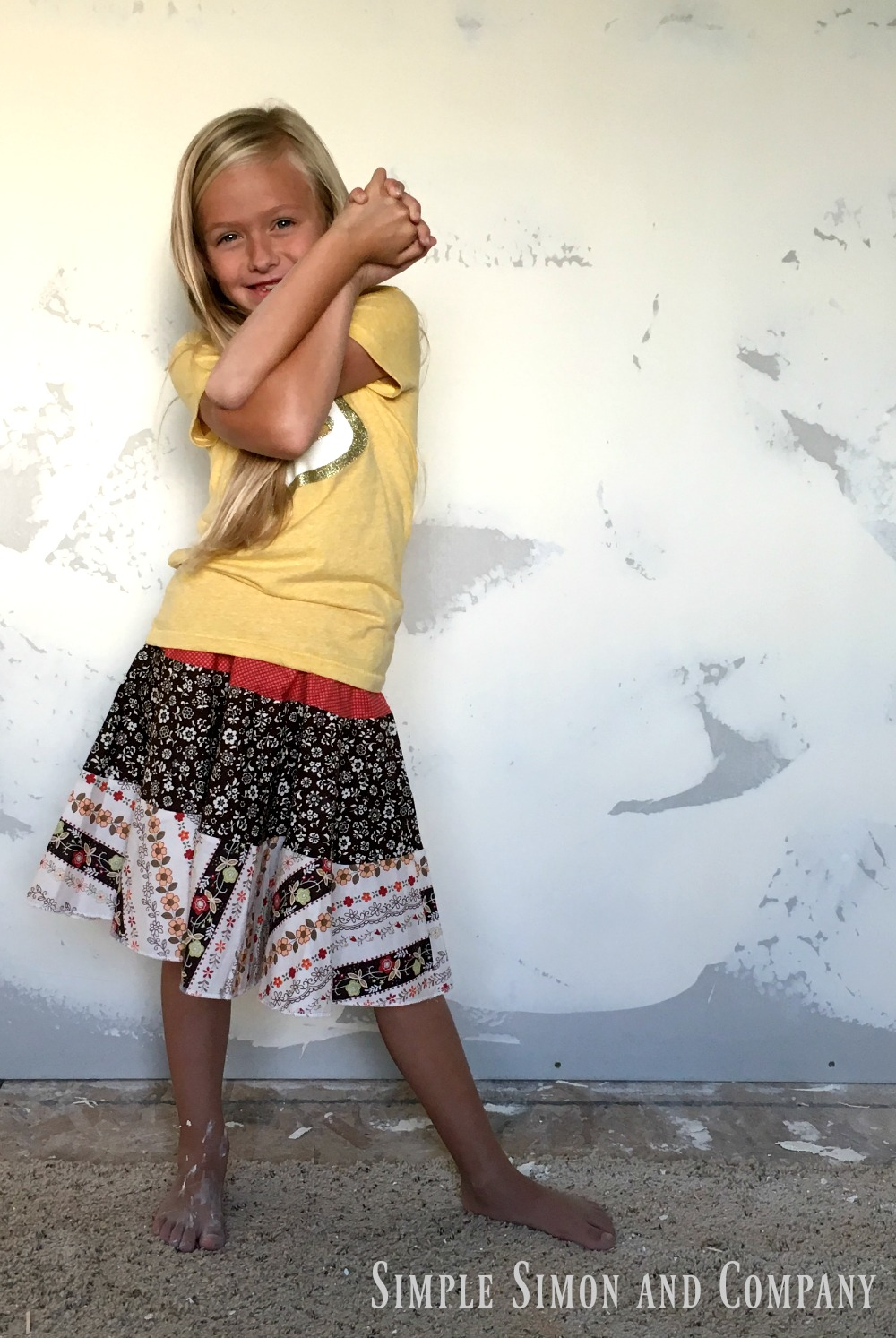 Tiered Skirt Grace crazy arms