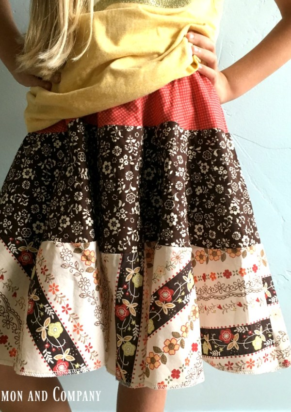 A Tiered Skirt—-Or I'm Trying to Finish What I Started