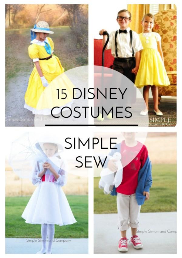15 Disney Costumes to Sew