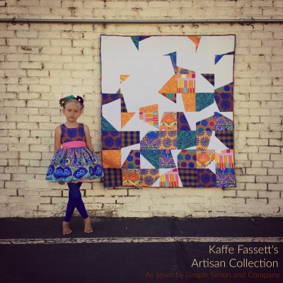 Kaffe Fassett Artisan Fabric (GIVEAWAY)