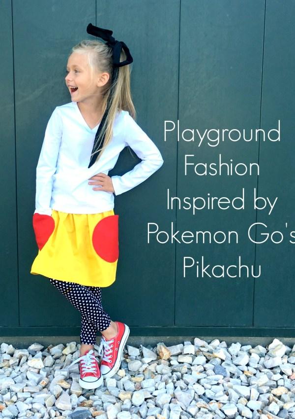 Pikachu Inspired Skirt
