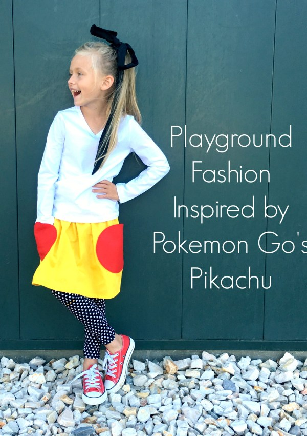 Pikachu Inspired Skirt