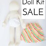 SALE–Muslin Dolls