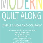 Modern Quilt Along–Modern Traditionalism with Amy Ellis