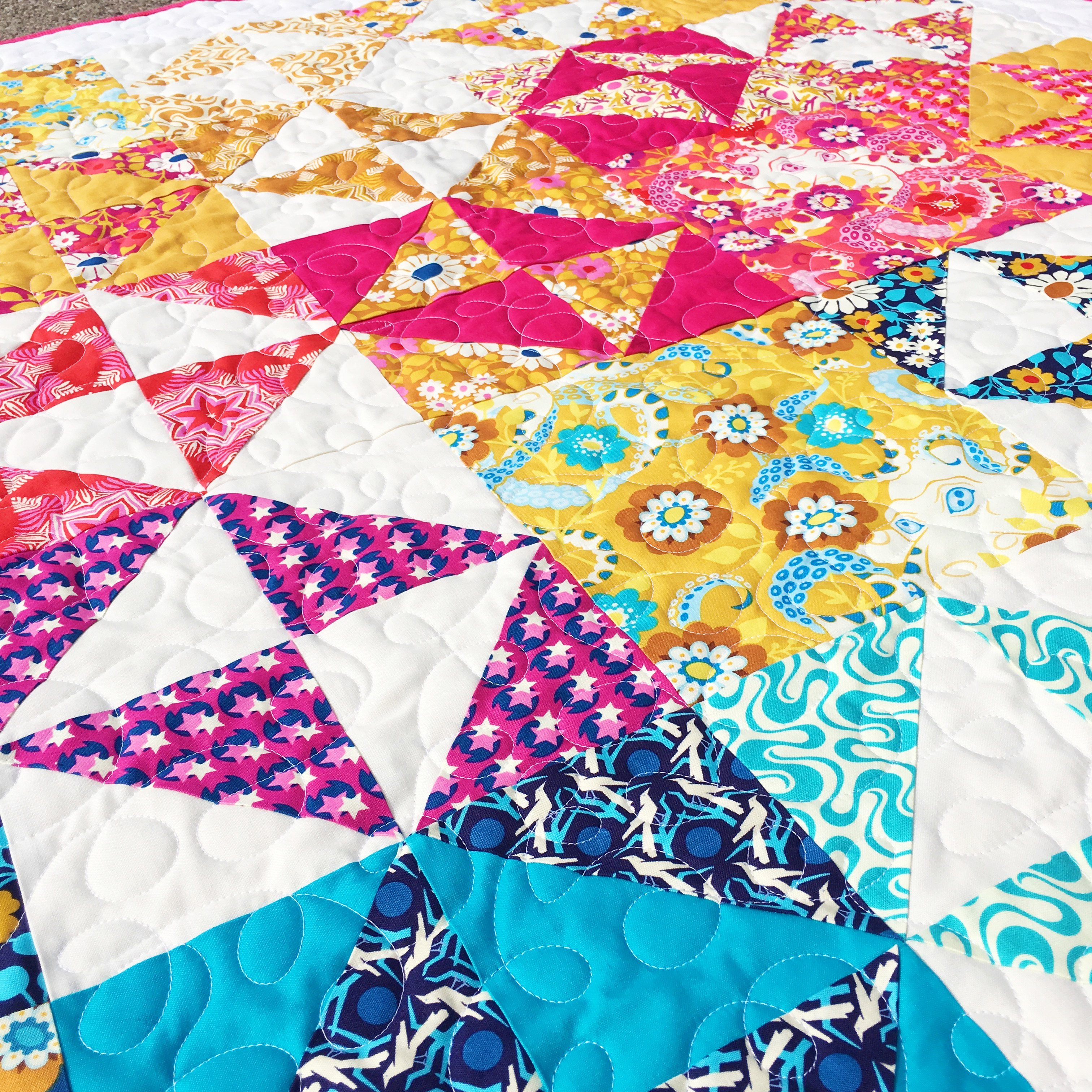 Angry Dad Broken Dishes.Broken Dishes Quilt Block Tutorial Simple Simon And Company