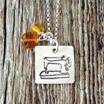 Month of Giveaways:  Things We Love Item #3 Charmed Collections Sewing Necklaces