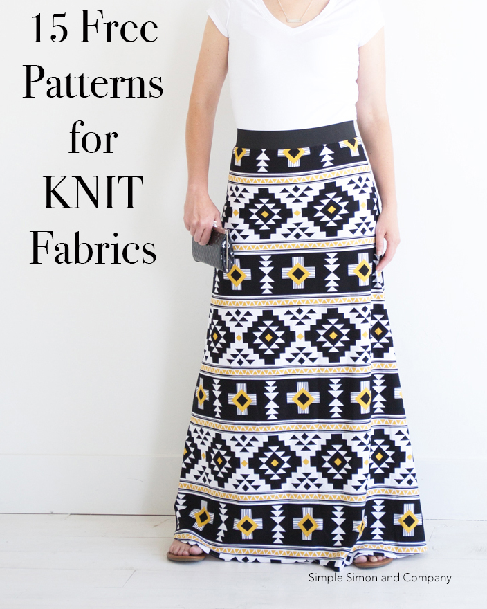 15 Sewing Projects for KNITS (and Beginners!) - Simple Simon and Company