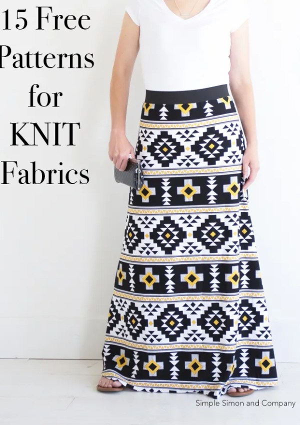 15 Sewing Projects for KNITS (and Beginners!)