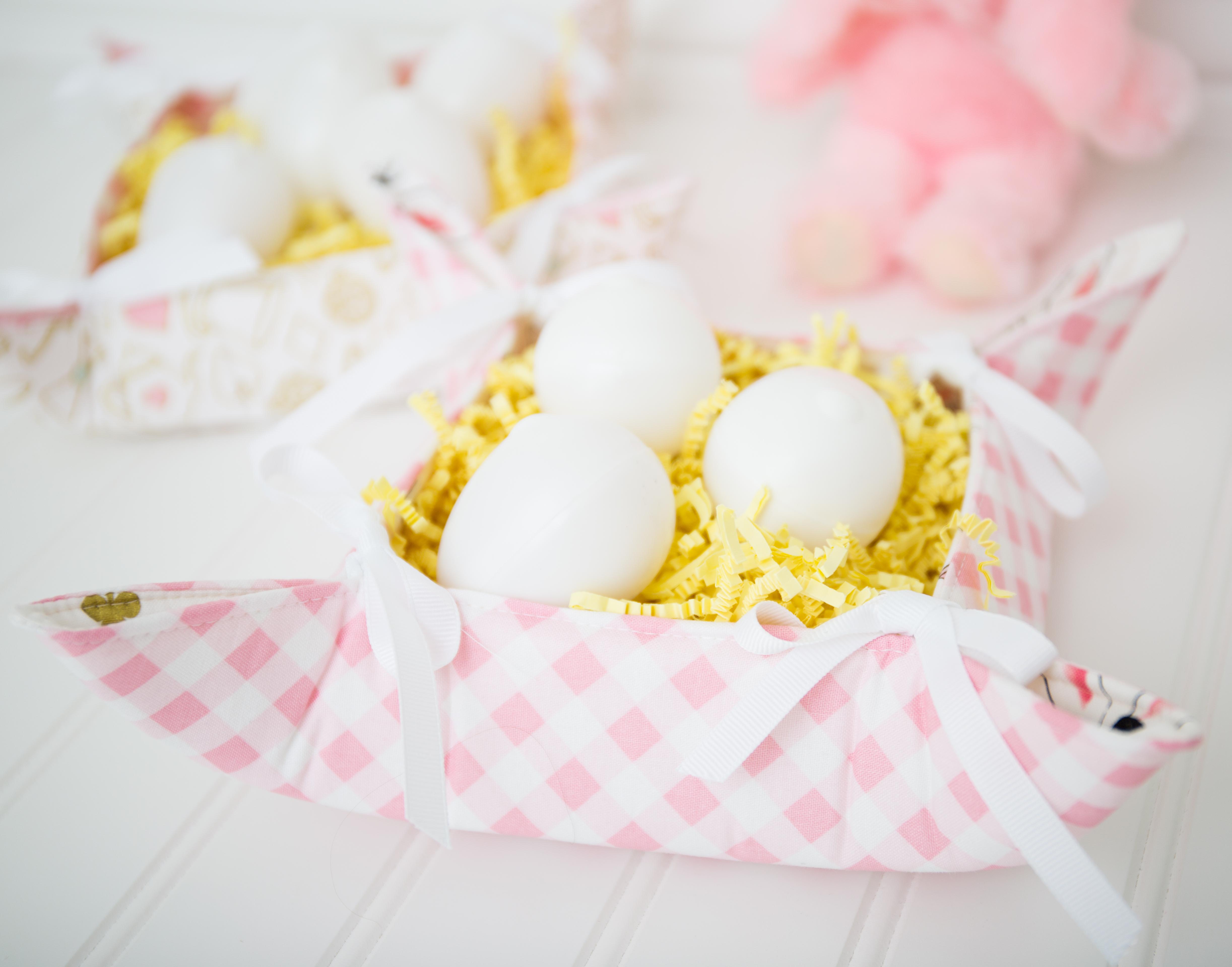 Fabric Easter Basket.