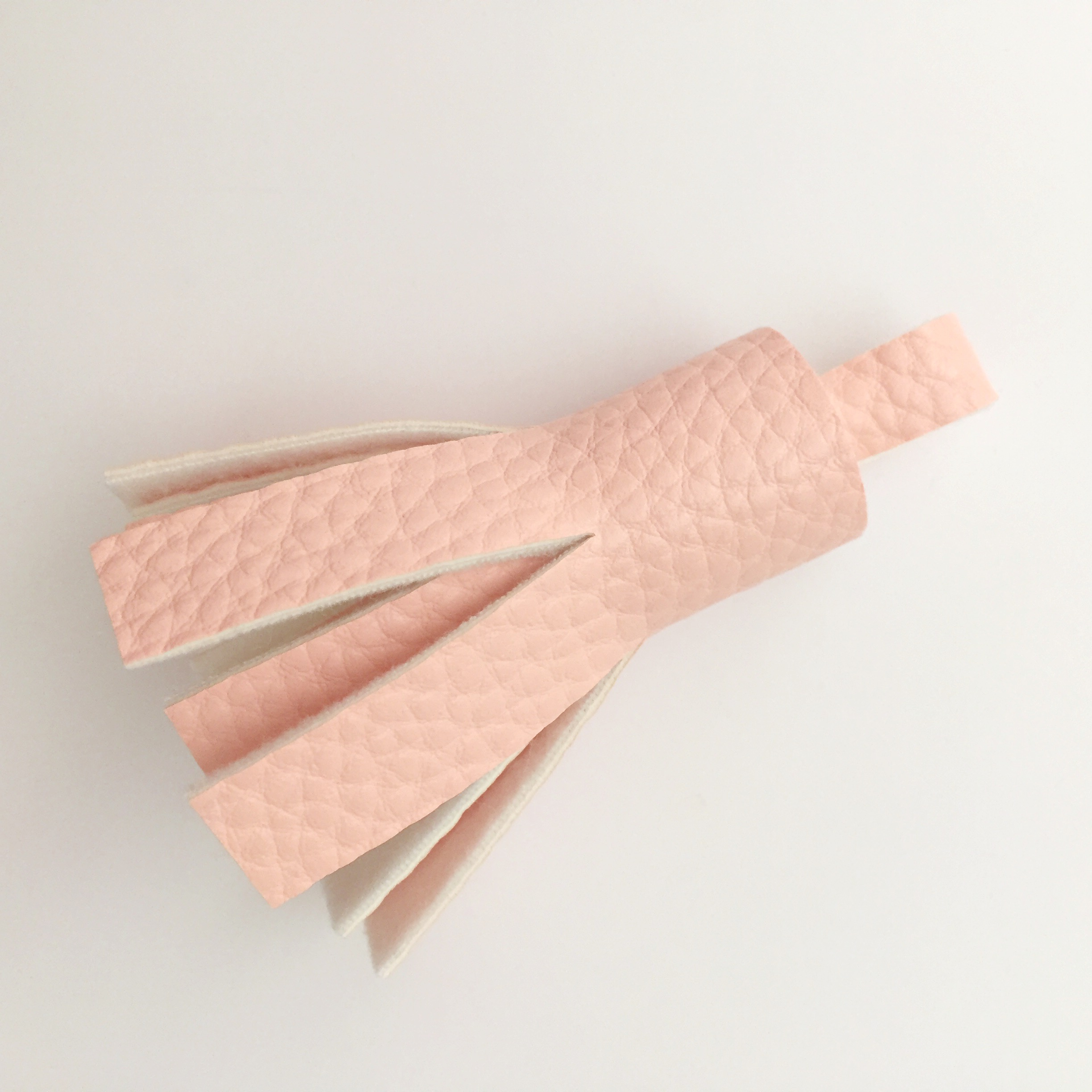 How to Make a Faux Leather Tassel